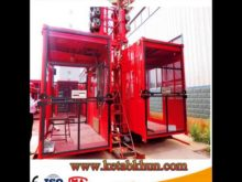 One Ton of Rack and Pinion Elevator