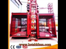 Orange/ Yellow / As Your Requirements Pillar Tower Crane With Hoist 1t