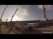 ORBP: 6th st @ Broadway in jeffersonville beam install