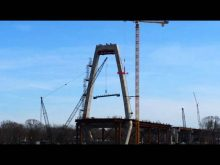 ORBP: East End Crossing update, IN tower topped out