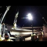 ORBP: I-65 S @ Jackson st overpass beam install timelapse