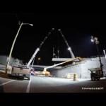 ORBP: I-65N @ Market st overpass beam install