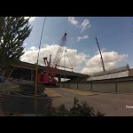 ORBP: Kobelco ck2500 and Liebherr ltm1300 set first indiana approach girders