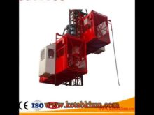Pinion And Rack, Sc100 Construction Electric Winch Hoist