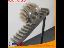 Power Transmission Steel Rack And Pinion Gears/ Spur Rack Gears