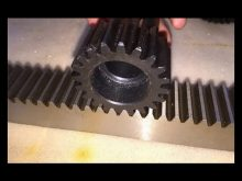 Precision Helical Rack And Pinion M1~M6