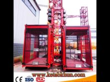 Professional Changli Sc100/100 Bouble Cages Construction Lift
