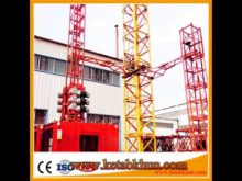 Professional Manufacturer 2t 4t Double/ Single Cage Construction Elevator