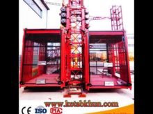 Rack and Pinion Construction Hoist for Lifting Passengers Saled to UAE Market