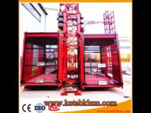 Rack Ang Pinion Flat Top Tower Crane