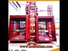 Rack Pinion Material Hoist Luffing Jib Tower Crane