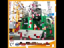 Reliable Overload! Double Cage Construction Lifter Elevator Construction Equipment Industry