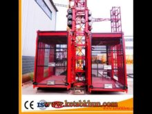 Reliable Quality Single Cage Building Material Hoist