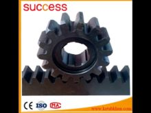 S45c Pinion Gear With Black Oxide