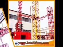 Safety and High Security Hoist Construction Equipment and High Level Crane