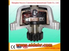Safety Device for Construction Elevator Hoist Lifting