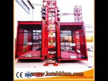 Safety&Reliable Performance Construction Elevator Sc 100 Construction Lift Hoist