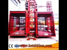 Sale of Professional Construction Material Hoist Elevator Construction Equipment Industry