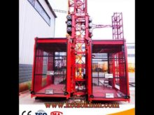 Sc Series 1 Ton Construction Elevator,Elevator Hoist Machines,Elevator Lift Hoist