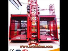 Sc Series Rack and Pinion Construction Hoist for Building