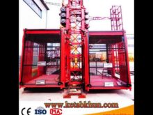 Sc100 1000kg 2*15 Kw Building Hoist Machinery