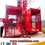 Sc100 1000kg 2*15 Kw Building Hoist Price