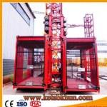 Sc100 1000kg 2*15 Kw Construction Elevator Lifter