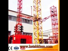 Sc100 Construction Material Elevators Cage Lift Construction Hoisting Elevator