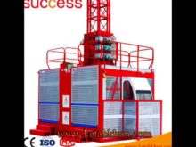 Sc100 Mini Cage Construction Popular Building Hoist