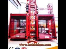 Sc200 2 Ton Construction Mini Hoist Cranes