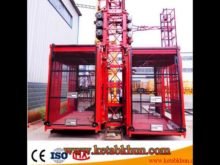 Sc200 3*11kw Construction Building Hoist
