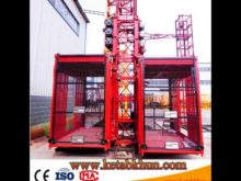 Sc200 3*11kw Monorail Wire Rope Hoist