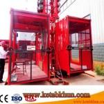 Sc200 3*11kw Portable Construction Elevator
