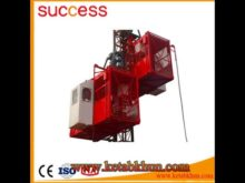 Sc200/200 2t 4t Construction Hoist Lift,Construction Hoist,2t Double Cage Construction Lifter