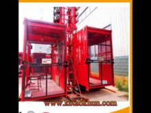 Sc200/200 2t 4t Construction Hoist Lift,Construction Hoist,2t Double Cage Working Platform Lifts