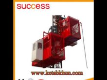 Sc200/200 2t 4t Construction Hoist Lift,Construction Lifts For Workers