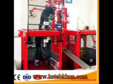 Sc200/200 3*2*11kw Building Construction Elevator