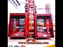 Sc200/200 3*2*11kw Building Lifting Hoist