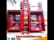 Sc200/200 3*2*11kw Chinese Construction Elevator