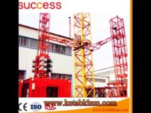 Sc200/200 3*2*11kw Construction Lifting Elevator