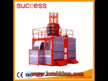 Sc200/200 3*2*11kw Electric Construction Elevator