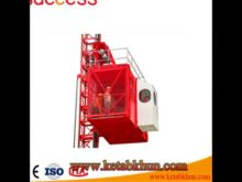 Sc200/200 3*2*11kw High Quality Building Hoist