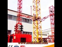 Sc200/200 3*2*11kw Vertical Construction Hoist