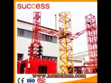 Sc200/200 Ce Certificate Machine Construction Hoist