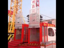 Scd200/200g Electric Vertical Transportation Building Elevator/Hoist