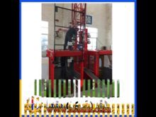 Scq160 Curve Building Electric Construction Hoist
