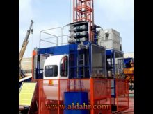 Scq200/200 Lean Construction Hoist for Bridge Tower Chimney