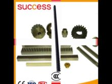 Shanghai Machinery Cnc Steel Gear Rack M1 M2 M3 M4 M5 M6 Pinion Gear And Rack