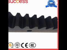Shanghai Machinery Gear Rack M6 M8 M10 And Pinion Gear