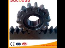Shanghai Machinery Gear Rack Specification M8 79*79*480 And Pinion Gear